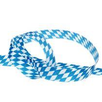 Deco bånd blå-hvid 15mm 20m