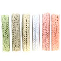 Dekorativt bånd kniplinger 9mm 20m