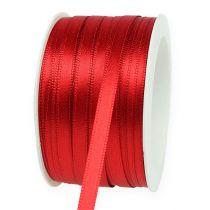 Gave- og dekorationsbånd 6mm x 50m lys rød