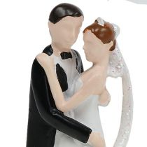Dekorativ figur brudepar 10,5 cm
