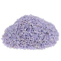 Dekorativt granulat lilla 2mm - 3mm 2kg