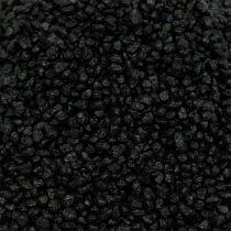 Dekorativt granulat sort 2mm - 3mm 2kg