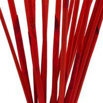 Dekorative pinde, elefantrød rød 20stk