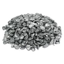 Dekorative sten 9mm - 13mm 2kg sølv