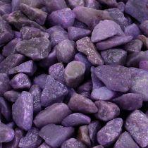 Dekorative sten aubergine 9mm - 13mm 2kg