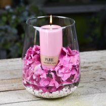 Dekorativ vase, blomstervase, glasvase Ø19cm H23cm