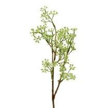 Dekorativ gren grøn L43cm 4stk
