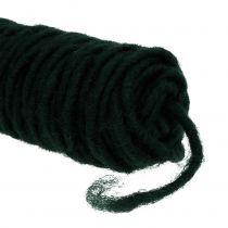 Våd tråd filttråd mørkegrøn 55m