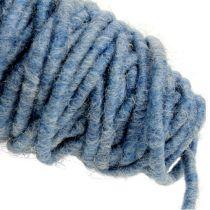 Vægttråd 55m blå