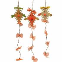 Fall dekoration drage til at hænge 10,5 cm x 11 cm 6stk