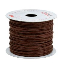 Tråd indpakket i 50 m brun