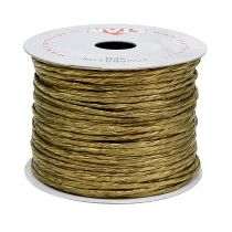 Wire indpakket omkring 50 m guld