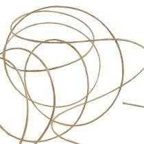 Tråd indpakket 50 m naturlig