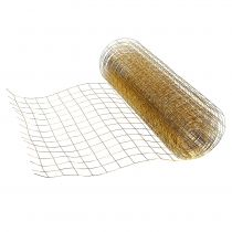 Trådnet guld 35cm 5m