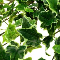 Ivy bøjle real-touch grøn-hvid 130cm