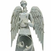 Dekorativt engelmetal 58cm