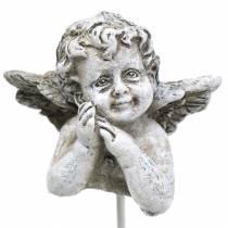 Grave smykker dekorativ plug angel 3,5 cm 8stk