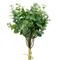 Eucalyptus gren kunstgrøn 37cm 6stk