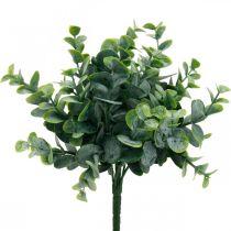 Kunstig eukalyptus bryllupsdekoration eukalyptus grene grøn H26cm