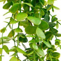 Bryllupsdekoration eukalyptus krans kunstig grøn 122cm