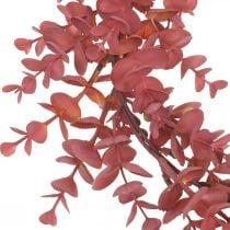 Dekorativ krans eukalyptus rød Kunstig eukalyptus krans Ø32cm