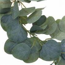 Dørkrans eukalyptus kunstig eukalyptus krans Ø38cm