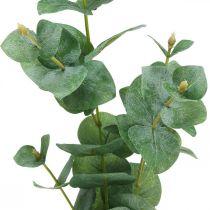 Eucalyptus gren Kunstig grøn plante Eucalyptus dekoration 75cm