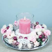 Evige roser medium Ø4-4,5cm lyserød 8stk