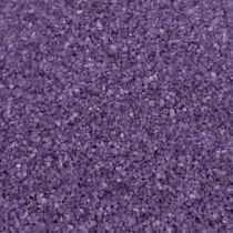 Farve sand 0,5 mm aubergine 2 kg
