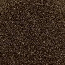 Farvesand 0,5 mm brun 2 kg