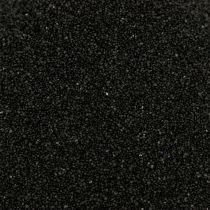 Farve sand 0,5 mm sort 2 kg