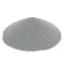 Farvesand 0,5 mm sølv 2 kg