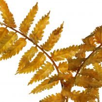 Kunstig bregne efterårsfarver 33cm 12stk