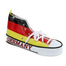 Blyantetaske som sko Tyskland 20cm