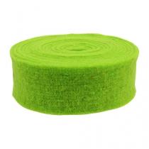 Filtbåndgrøn 7,5 cm 5m