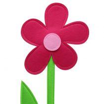 Filt blomsterrosa 120cm