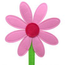 Filt blomsterrosa 87cm