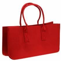 Filtpose rød 50 × 25 × 25 cm