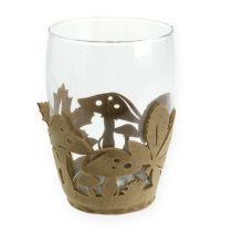 Filt pot efterårsfilt dekoration planter filt beige 2stk