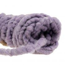 Velcro Mirabell filt ledning violet 25m