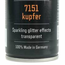 Glitter spray kobber 400ml