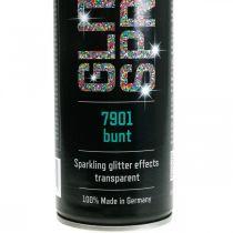 Glitterspray til fremstilling af farverig spraymaling -glitter 400ml