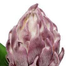 Skum artiskok lys lilla 14cm L28cm 1p