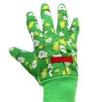 Kixx kvinderhandsker i størrelse 8 grøn med motiv