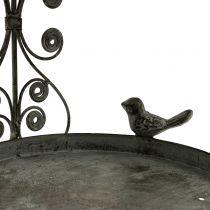 Fuglefoder til hængning i vintage stil H35cm