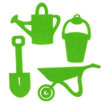 Haveværktøj filtgrøn 24stk