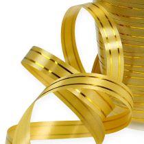 Opdelte bånd 2 guldstrimler på guld 10mm 250m