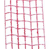 Gitterbånd 4,5 cm x 10m lyserød