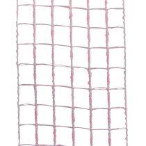Gitterbånd 4,5 cm x 10 m lyserød