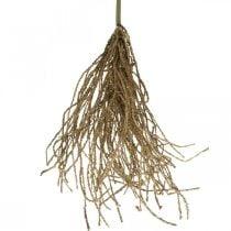 Græsbuskebrun kunstig tør dekoration efterårsdekoration 48cm